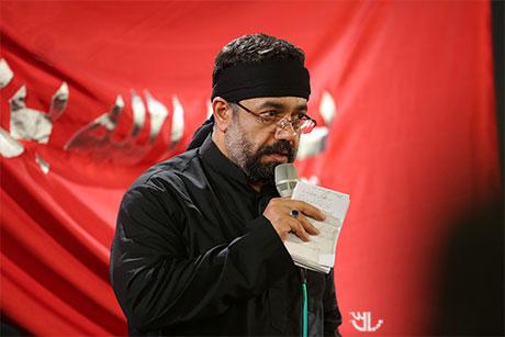 دانلود نوحه جدید محمود کریمی به نام اول به مدینه مصطفی بر سر زد