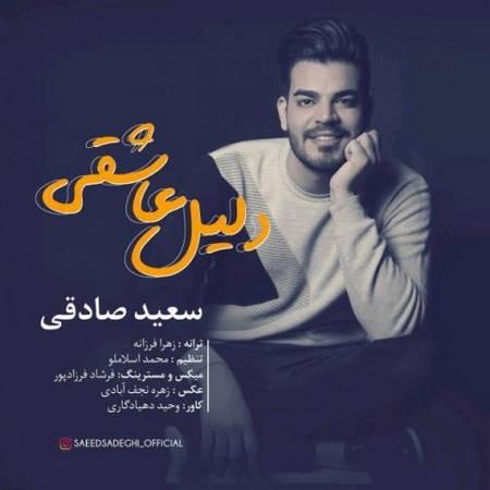 دانلود آهنگ جدید سعید صادقی به نام دلیل عاشقی